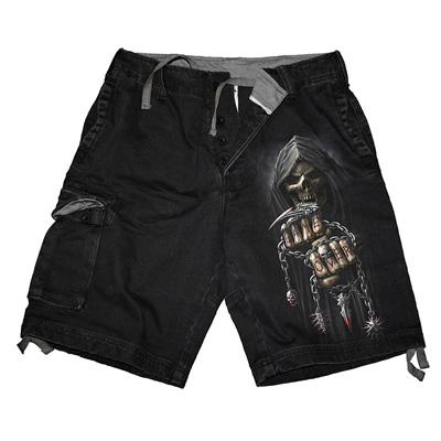 Game Over vintage shorts black - Spir