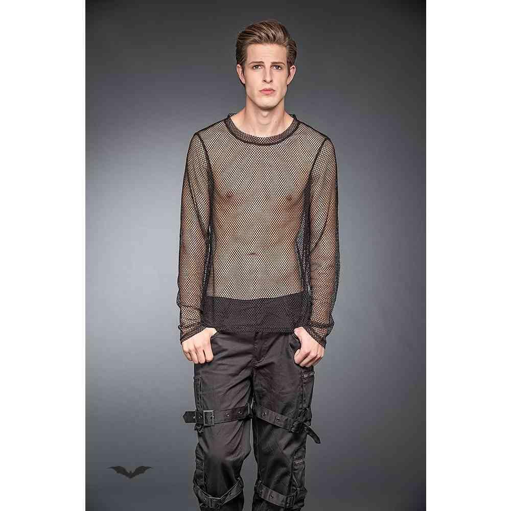 Transparent Net-Shirt